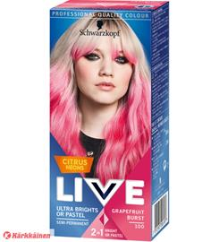 Schwarzkopf Live Color Ultra Brights 102 Grapefruit Burst hiusväri