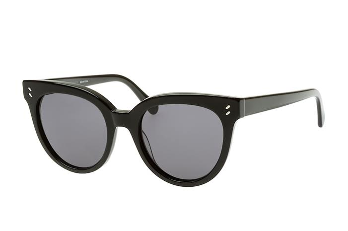 Stella McCartney SC 0139S 001, Aurinkolasit