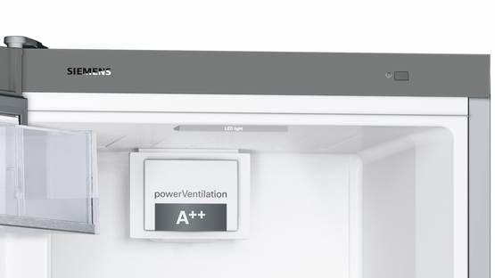 Siemens KS36VBI3P, jääkaappi