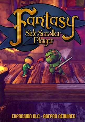 Axis Game Factory's AGFPRO Fantasy Side-Scroller Player, ohjelmisto