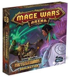 Mage Wars: Arena Battlegrounds Domination Lautapeli