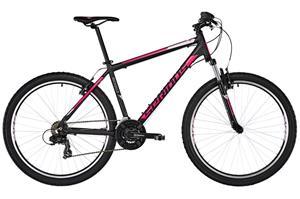"""Serious Rockville etujousitettu maastopyörä 27,5"""""""" , vaaleanpunainen/musta"""