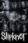 Slipknot Masks Juliste monivärinen