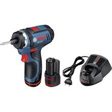 Bosch GSR 10,8-LI (0601992906) 10,8V 2x1,5Ah L-BOXX, akkupora/-ruuvinväännin + laturi AL 1115 CV