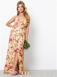 NLY Eve Thin Strap Flowy Gown Maksimekot Kuviollinen