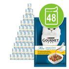 Gourmet Perle Delicious Sauce -säästöpakkaus 48 x 85 g - nautaa naudanpaistikastikkeessa