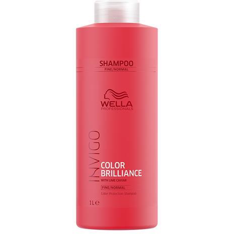 Wella INVIGO Brilliance Shampoo - Fine Normal 1000 ml