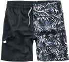 Parkway Drive EMP Signature Collection Uimashortsit musta-harmaa