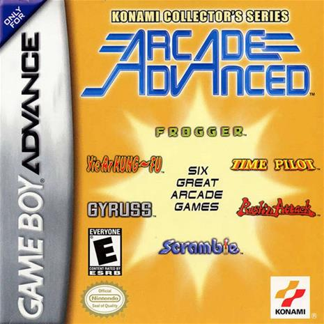 Konami Collector's Series: Arcade Advanced, GBA -peli