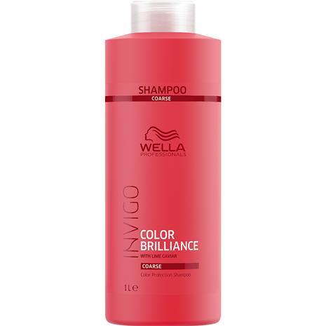 Wella INVIGO Brilliance Shampoo - Coarse 1000 ml