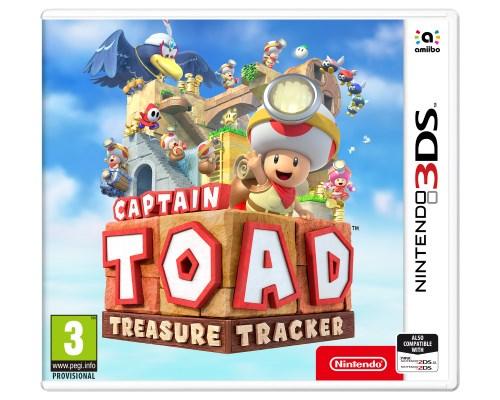 Captain Toad: Treasure Tracker, Nintendo 3DS -peli