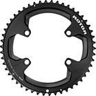 Rotor Aldhu Chainring 110x4 outer round black/matt/glossy