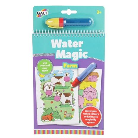 Galt Water Magic Värityskirja, Maatila
