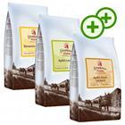 2x zooPlusPisteitä: Stephans Mä¼hle -kokeilupakkaus 3 x 1 kg - vadelma-vanilja, omena-kaneli & lakritsi