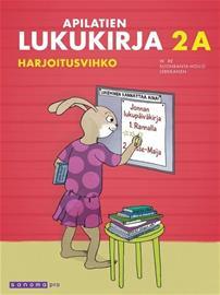 Apilatien lukukirja Harjoitusvihko 2a, kirja