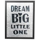 "Sisustustaulu 35 x 45 cm ""Dream Big"""