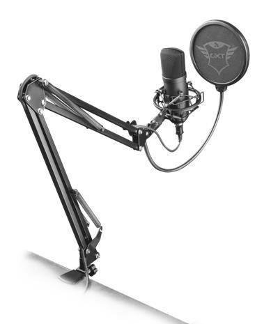 Trust GXT 252+ Emita Plus Streaming, mikrofoni