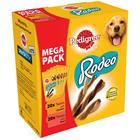 Pedigree Rodeo Mix - suurpakkaus (20 x kana, 20 x nauta)