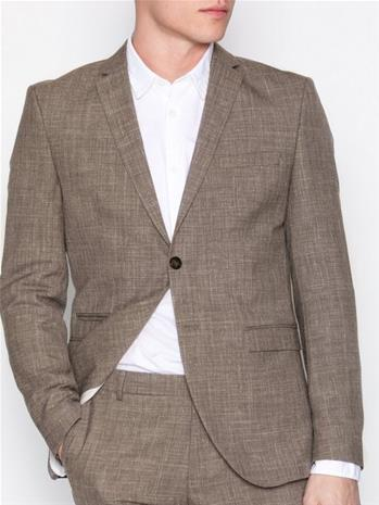 Selected Homme Shdone-Buffalo Oasis Sand Blazer Bleiserit & puvut Vaaleanruskea