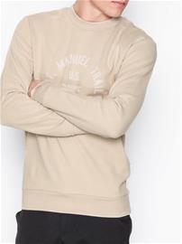 Selected Homme Shhsteven Crew Neck Sweat Puserot Vaaleanharmaa