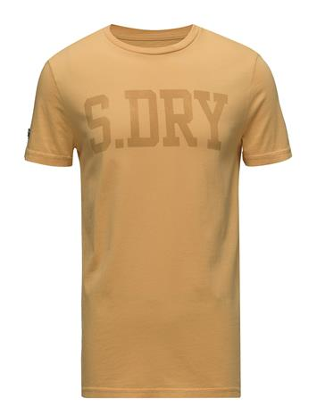 Superdry Heritage Wash S/S Tee OCHRE GOLD