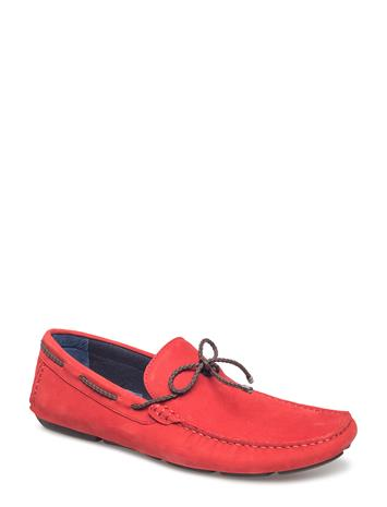 Dune London Barnstable RED-NUBUCK