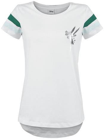 Peter Pan Tinker Bell - 08 Naisten T-paita valkoinen-vihreä