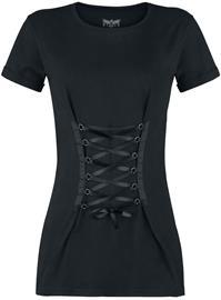 Black Premium by EMP Tie You Up Naisten T-paita musta