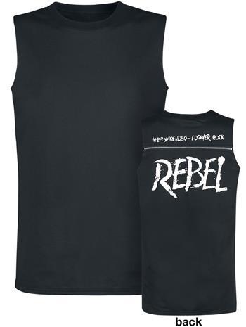 Rock Rebel by EMP Tiger In My Tank Tank-toppi musta