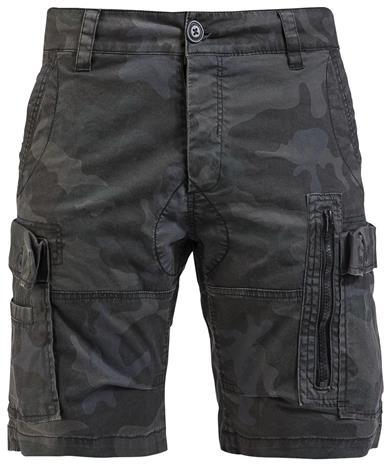 Brandit Kite Short Slim Fit Shortsit camo (tumma)