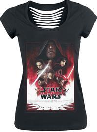 Star Wars Episode 8 - Die letzten Jedi - Poster Naisten T-paita musta