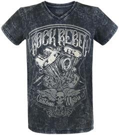 Rock Rebel by EMP Heavy Soul T-paita sininen