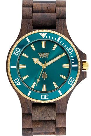 WeWood Date MB Choco Rough Emerald 70362518