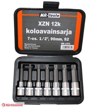 MR-tuote 7-osainen XZN 90mm avainsarja