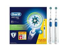 Oral-B hammasharja PRO 690 CrossAction Bonus Pack , OtherHealthCareProducts