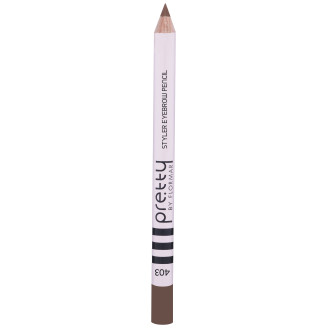 Pretty Kulmakynä Styler Eyebrow Pencil 403 Brunette