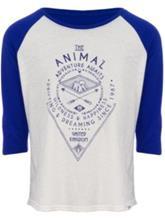 Animal Coolar T-Shirt LS vanilla cream marl Naiset