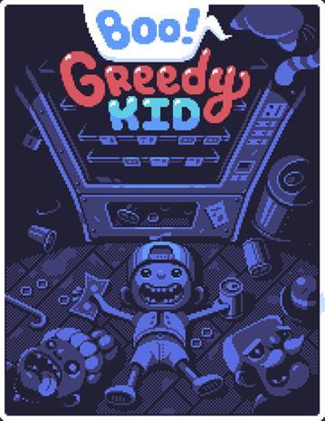 Boo! Greedy Kid, PC -peli