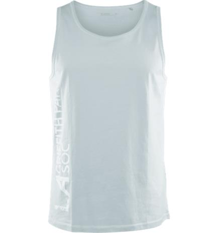 Soc M GRAPHIC TANK DUSTY MINT/ PRINTE