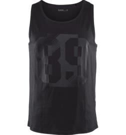 Soc M GRAPHIC TANK BLACK/PRINTED