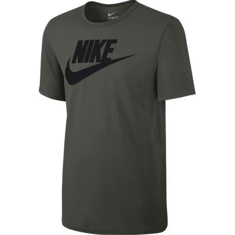 Nike M NSW TEE ICON FUTURA SEQUOIA/BLACK