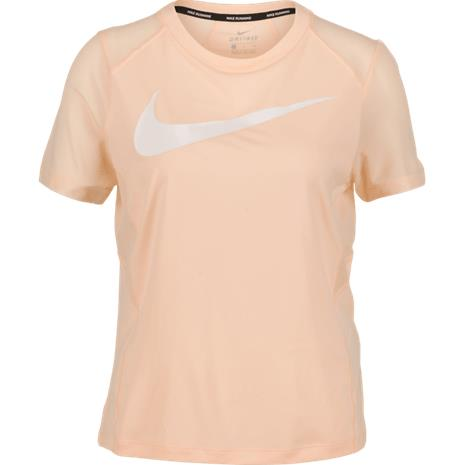Nike W NK DRY MILER TOP CRIMSON TINT