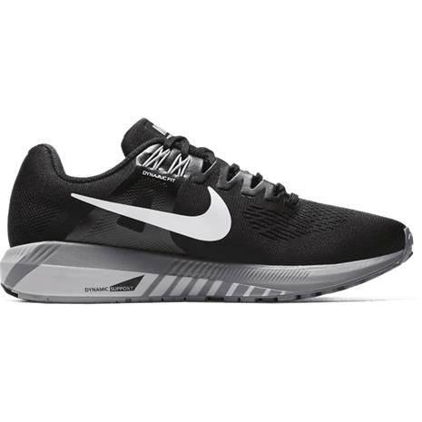 Nike W AIR ZOOM STRUCTURE 21 BLACK/WHITE-WOLF G