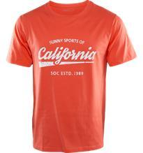 Soc M GRAPHIC TEE ORANGE/CALIFORNIA