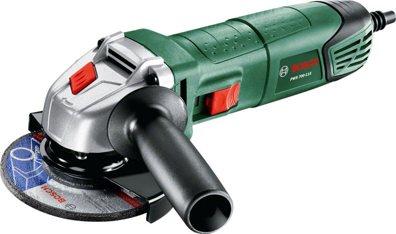 Bosch PWS 700-115 (06033A2021), kulmahiomakone