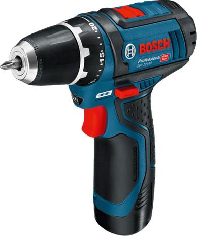 Bosch GSR 12V-15 Professional (060186810C), akkuporakone