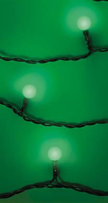 Valosarja Pallosarja Mio 60 vihreä Ulko- ja sisäkäyttöön