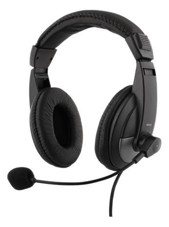 Deltaco HL-50, kuulokemikrofoni