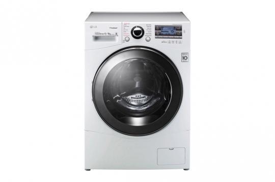 LG FH128TWH, kuivaava pyykinpesukone