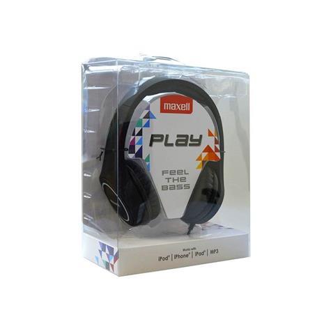 Maxell Play MXH-HP500, kuulokkeet